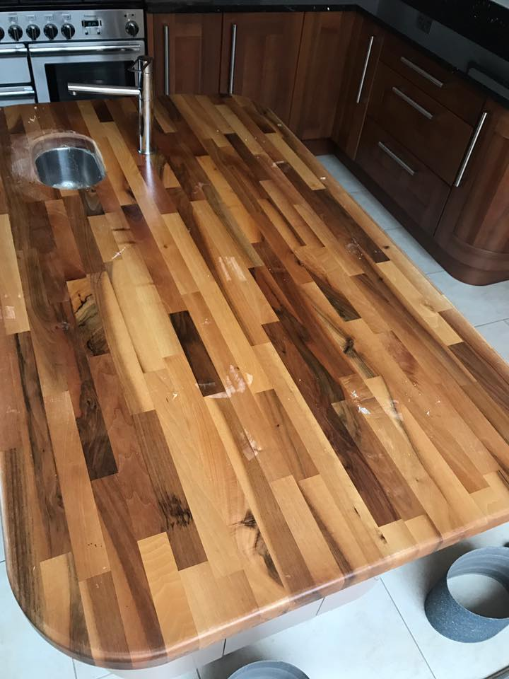 solid wood worktops floorestore. Black Bedroom Furniture Sets. Home Design Ideas