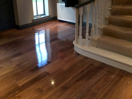 FlooRestore Wood Flooring Restoration Mobile Service - Reseal wood floor