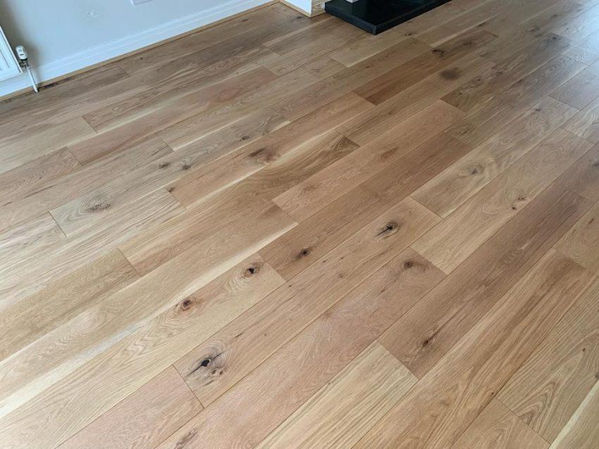 Oak Floor Restoration in Helmsley