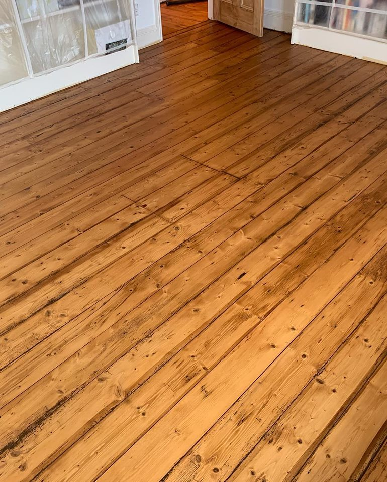 Pine Floorboards Leyburn