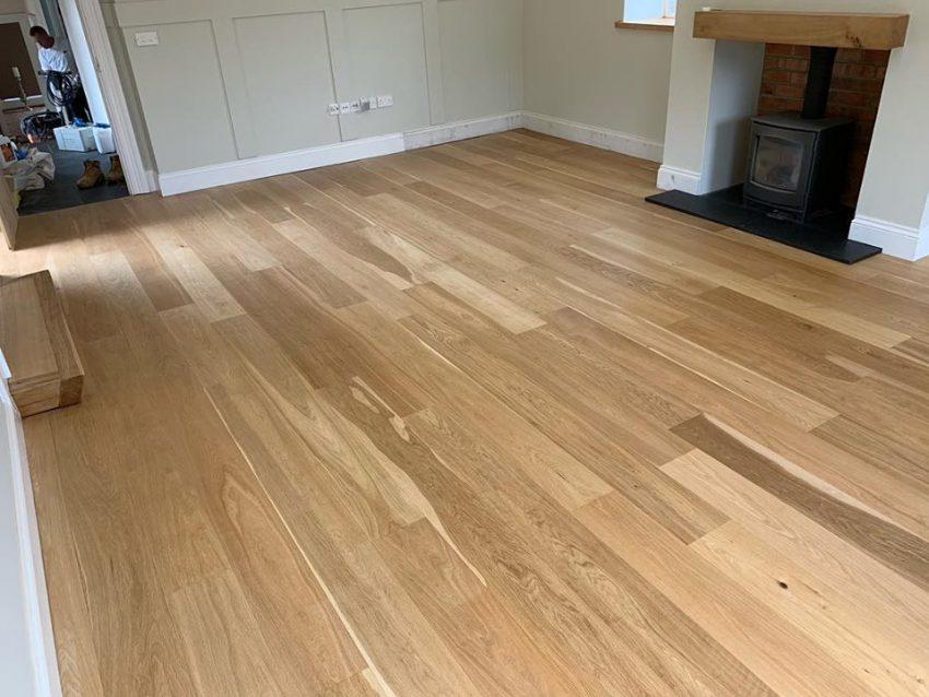 Oak Floor Restoration in Tunstall