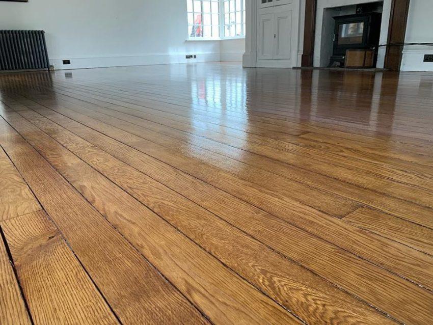 Original Oak Floorboards Romanby