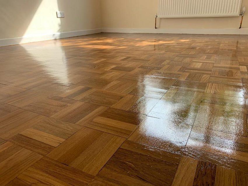 Mosaic Parquet Floor in Darlington