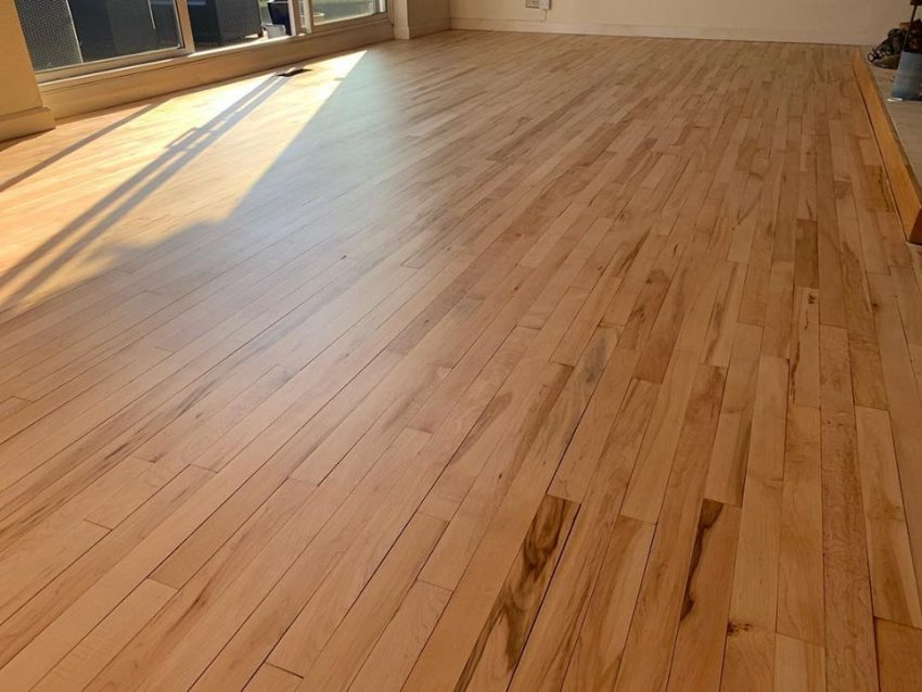 Maple Wood Floor in Borrowby, North Yorkshire