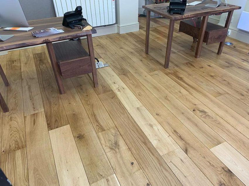 Oak Floor for Marcus Alderson Estate Agents in Richmond
