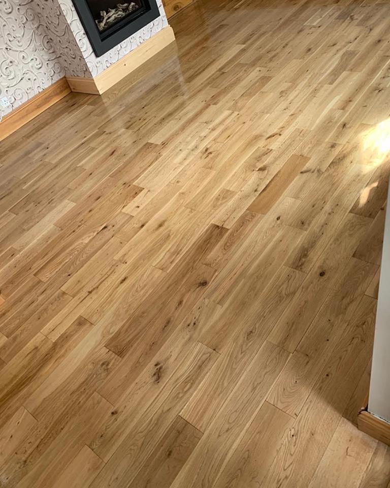 Oak Floor Restoration in Middlesbrough