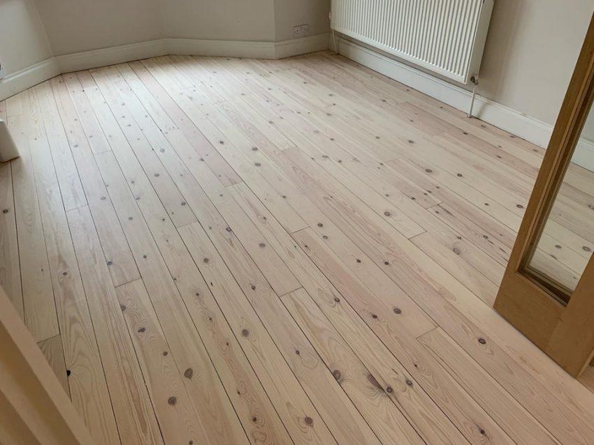 Pine Floorboards in Saltburn