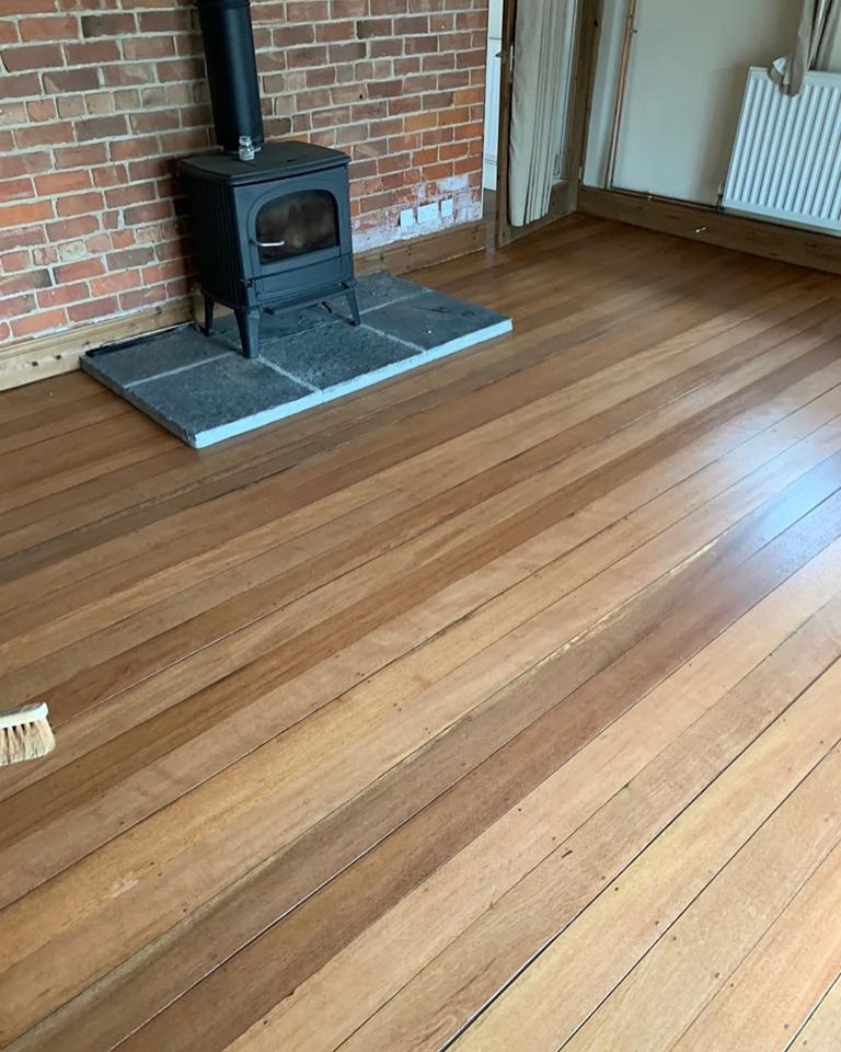 Keruing Wood Floor in Sedgefield