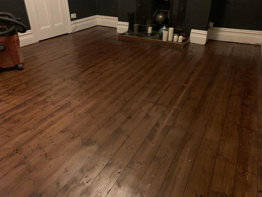 Wood Floor Restoration in Darlington
